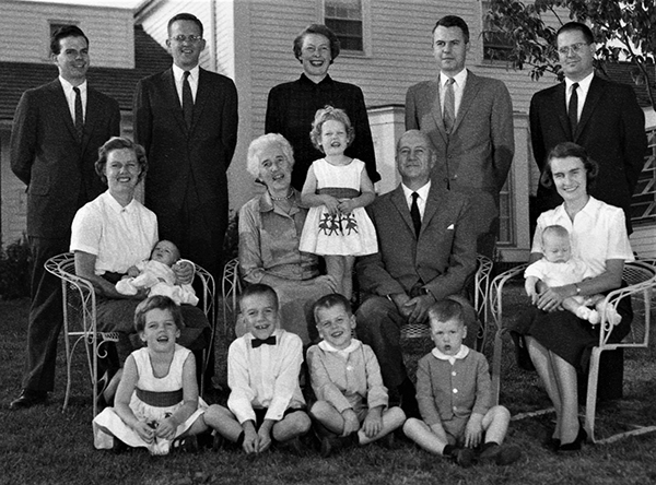 Ford Family in 1960